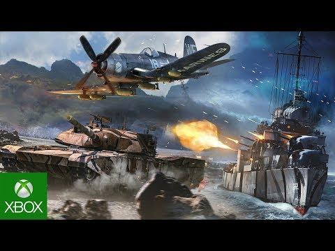 Состоялся релиз бесплатной версии игры War Thunder для Xbox One