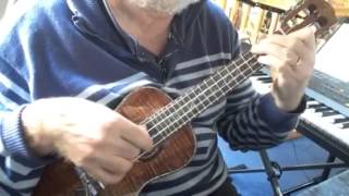 The Free Electric Band - solo ukulele - Colin Tribe on LEHO