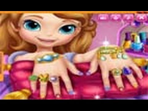Công chúa Sofia- Game làm móng tay cho công chúa Sofia (Sofia The First Nail Spa)