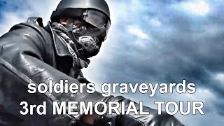 3rd tour 2017 MOVIE, traveling with my old-timer motorcycle, in Europe, to visit soldiers graveyards