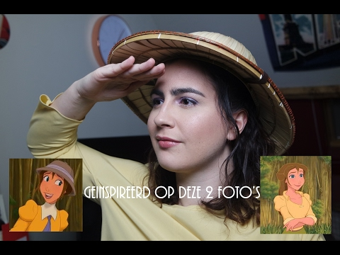 Jane (Tarzan) Make Up + Hair Tutorial | Femcetera