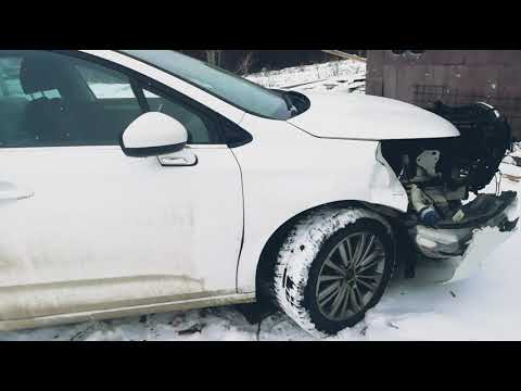 Восстановление передней части автомобиля CITROEN C4