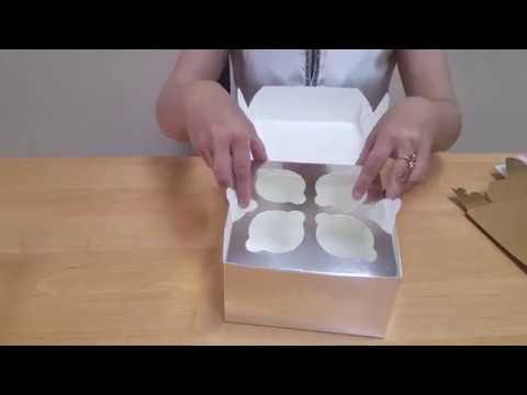 Как сделать коробку кекс 994