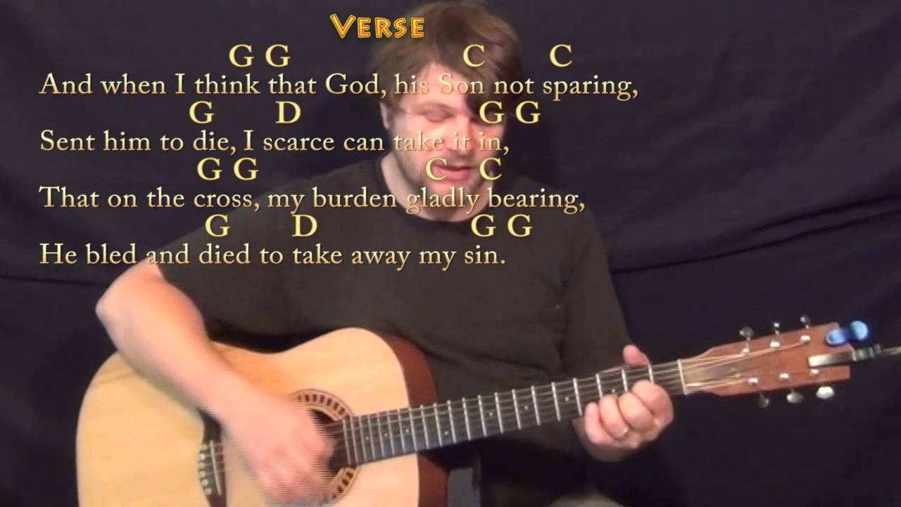 How Great Thou Art Chords D