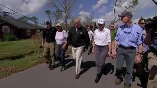 Trump praises first responders in Fla. panhandle