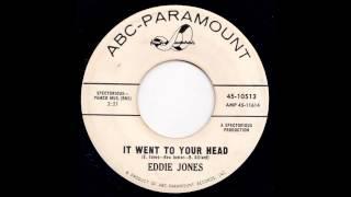 EDDIE JONES It Went To Your Head