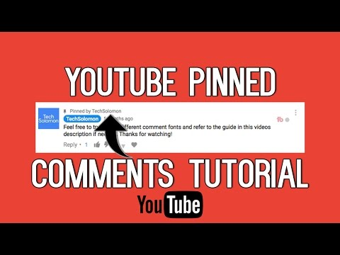 How To Pin Comments On YouTube | Pinned Comment Tutorial