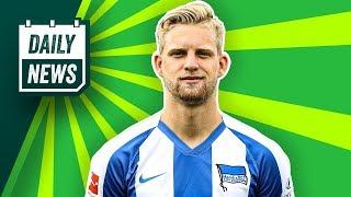Arne Maier will Hertha BSC verlassen! Edinson Cavani zu Atlético! Eriksen in Mailand gelandet!