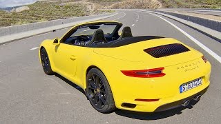 ► 2016 Porsche 911 Carrera S Cabriolet (Type 991 II) Racing Yellow