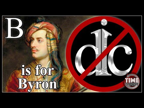 DicKtionary - B is for Byron - Lord Byron, Mad Jack, and The Wicked Lord