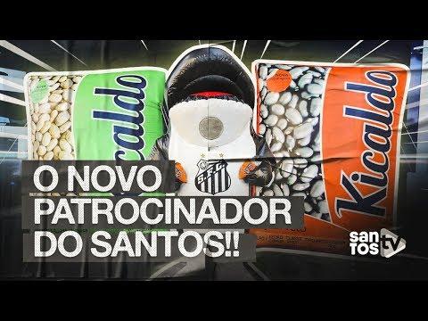 CONHEÇA O NOVO PATROCINADOR DO SANTOS, A KICALDO