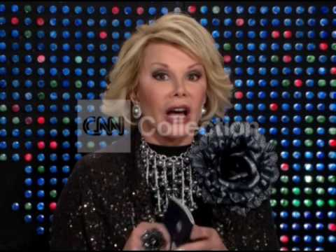 FILE: JOAN RIVERS JOKES MRS OBAMA