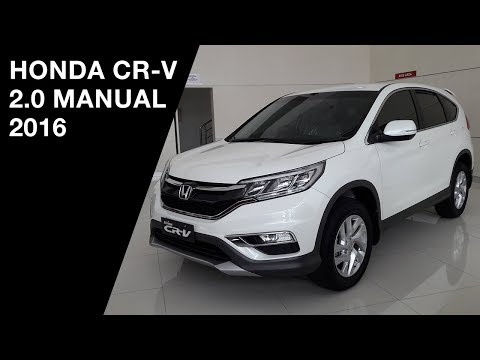 Honda CR-V 2.0 Manual 2016 - Exterior and Interior