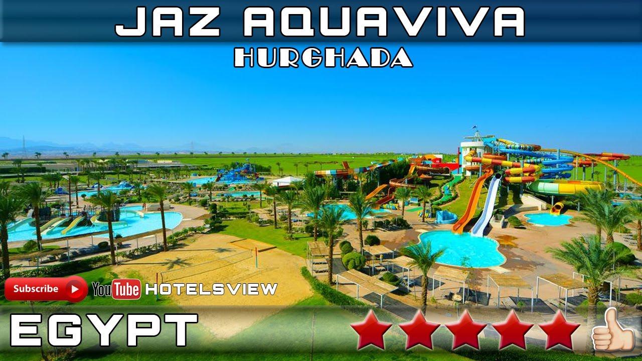 RESORT JAZ AQUAVIVA 5☆ | HURGHADA, EGYPT - YouTube