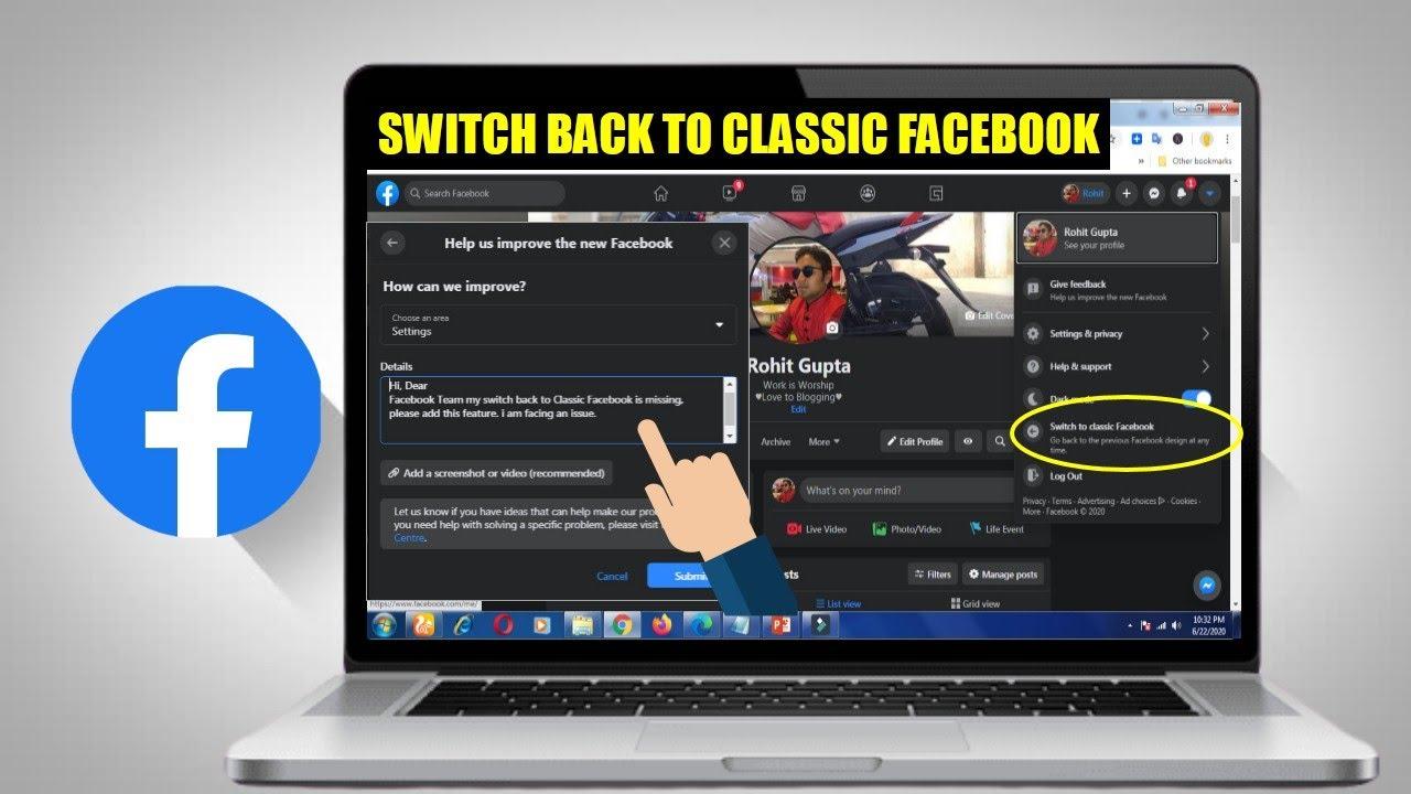 Classic Facebook Login