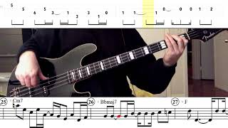 Jackson 5 - Darling Dear (Bass Line w/ tabs and standard notation)