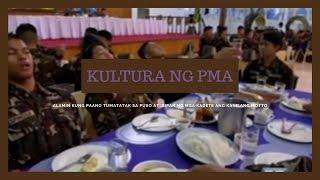 Ang kultura ng mga kadete ng Philippine Military Academy