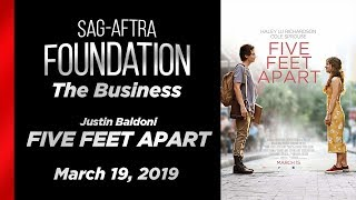 The Business: Q&A with Justin Baldoni of FIVE FEET APART