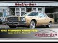 ? 1975 Plymouth Grand Fury Coupe ? 5,9l / 360cui V8 mit super, brutalem Sound ? Classic Car Porn