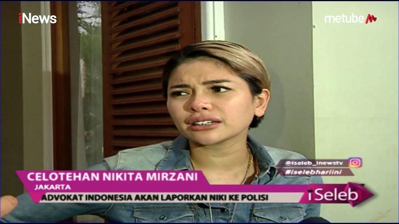 Nikita Mirzani Dilaporkan Pengacara Galih