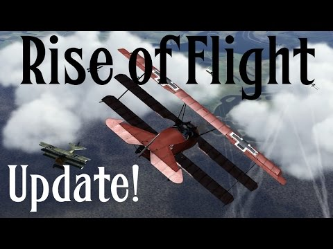Rise of Flight Update! Mouse Control (Feat. Dr.Zeebra)