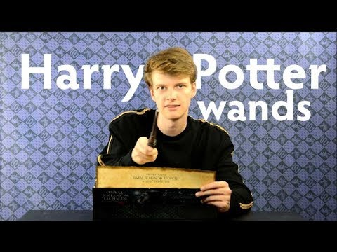 Harry Potter Wands of The Noble Collection