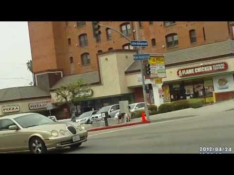N. Hampshire cor 3rd St., Koreatown, L.A., California, USA
