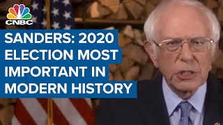 Bernie Sanders: The 2020 election is the most important in modern American history