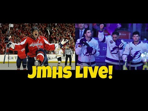 Ovechkin's hot start   Maple Leafs early success   J.T. Brown's protest - JMHS Live!