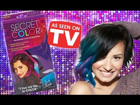 Testing as seen on tv secret color demi lovato hair extensions testing as seen on tv secret color demi lovato hair extensions review tutorial and demo pmusecretfo Image collections