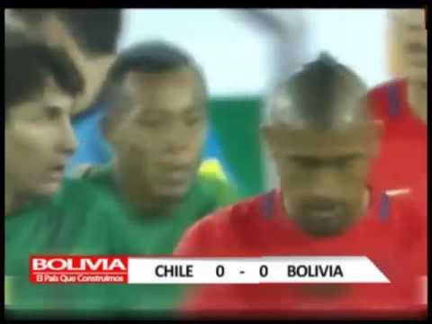 DEPORTES RESUMEN PARTIDO BOLIVIA CHILE