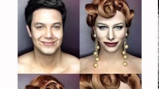 Makeup гений Парень перевоплощается в знаменитостей
