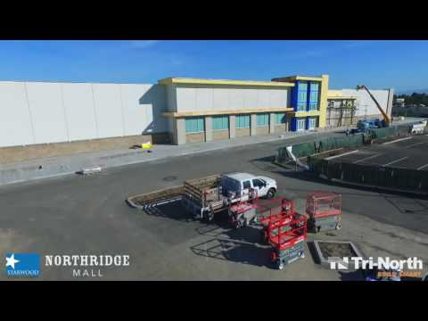 CONSTRUCTION AERIAL: JCPenney - Salinas, CA (10-25-16)
