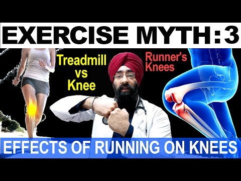 Exercise Myth 3: Treadmill effects on Knee joint Vs Running on Ground/ Grass/ Pavement  Dr.EDUCATION