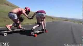 longboard freeride girls