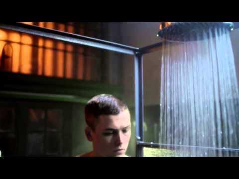 "Taron Egerton Shower Scene in ""The Smoke"""