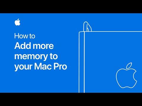 Apple shows you how to properly upgrade your new Mac Pro