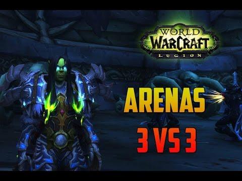 World of Warcraft | DK ESCARCHA - 3v3 VANGUARDS CLEAVE MALDITOS WARLOCKS