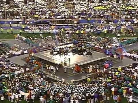 1Mbps 【】 Michael Jacks 「Heal the World」 1993 Super Bowl
