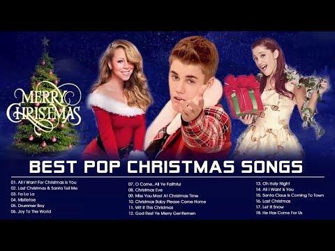 Best Pop Christmas Songs Playlist 2020 - Mariah Carey, Justin Bieber, Ariana Grande Christmas Songs