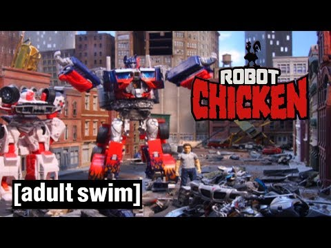 3 Transformers Moments | Robot Chicken | Adult Swim