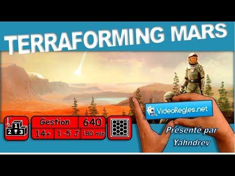 Download Vidéorègle Jeu de Société TERRAFORMING MARS VF (+ règles avancées et solo) par Yahndrev (#640)