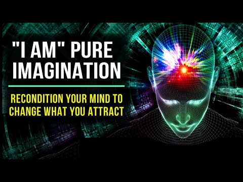"""""""l AM"""" PURE IMAGINATION! Positive Affirmations to Program Your Mind   528Hz   Law Of Attraction"""