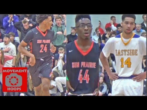 Jalen Johnson & Marlon Ruffin vs Keshawn Justice! Sun Prairie is STATE BOUND for first time ever!!