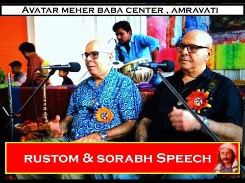 PART1 Beloved Avatar Meher Baba's Nephew Rustom and Sorabh talk