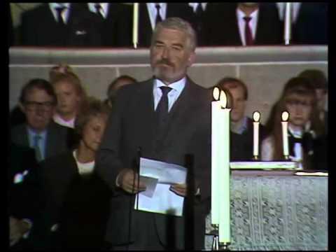 Hasse Alfredssons minnestal till Tage Danielsson