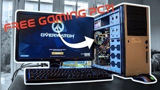 Le PC de jeu GRATUIT que n'importe qui peut construire! (Fortnite, PUBG, LOL, Battlefield, Overwatch)