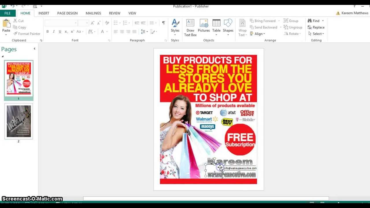 How To Make Double Page Flyer In MS Word
