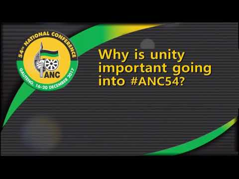 cde jackson mthembu on why unity is important going into anc54 youtube. Black Bedroom Furniture Sets. Home Design Ideas