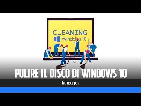 Pulire Il Disco Di Windows 10